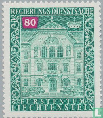 Liechtenstein - Regeringsgebouw