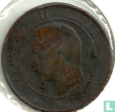 France - France 10 centimes 1856 (MA)