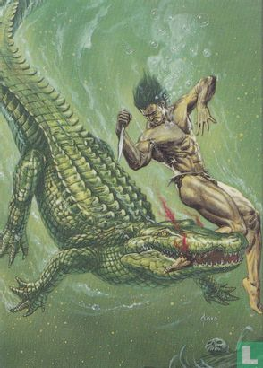 "Joe Jusko's Edgar Rice Burroughs Collection 1 - ""Jaws Of Death"""