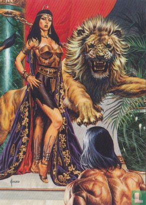 "Joe Jusko's Edgar Rice Burroughs Collection 1 - ""Belthar Does Not Like You."""