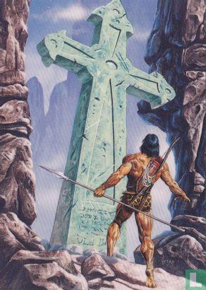 "Joe Jusko's Edgar Rice Burroughs Collection 1 - ""Limestone Monolith"""