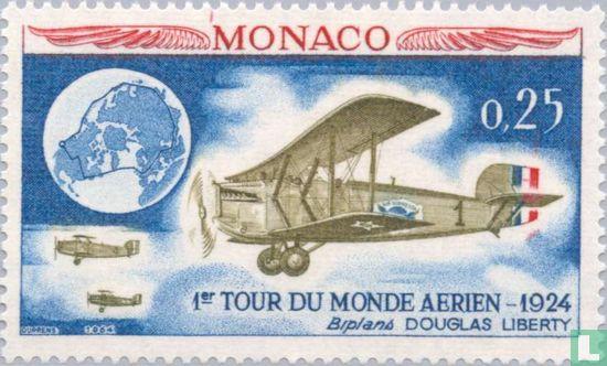 Monaco - Vliegrally naar Monaco