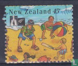 Nieuw-Zeeland - 100 jaar cricketbond