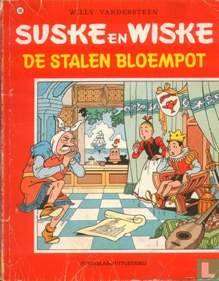 Suske und Wiske (Frida und Freddie, Ulla und Peter) - De stalen bloempot