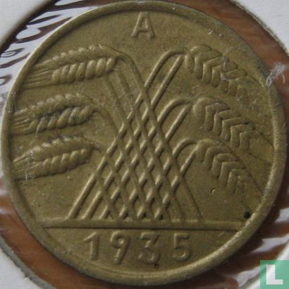 Deutschland - Deutsches Reich 10 Reichspfennig 1935 (A)