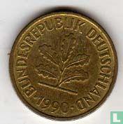 Duitsland - Duitsland 5 pfennig 1990 (G)