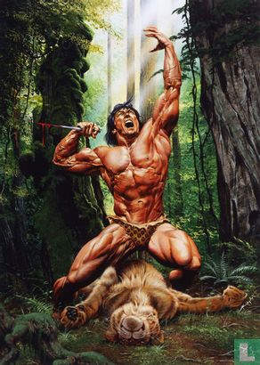 """Joe Jusko's Edgar Rice Burroughs Collection 1 - """"Lord of the Jungle"""""""