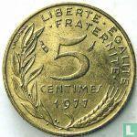 Frankrijk (France) - Frankrijk 5 centimes 1977