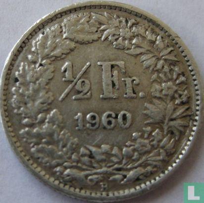 Zwitserland (Helvetia) - Zwitserland ½ franc 1960