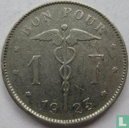 België - België 1 franc 1923 (FRA)
