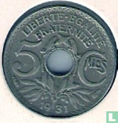Frankrijk (France) - Frankrijk 5 centimes 1931