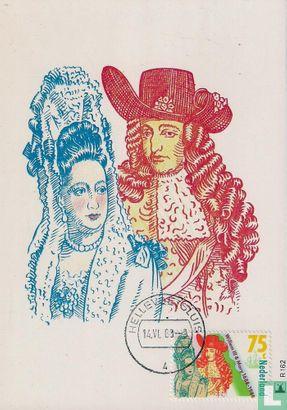 Netherlands [NLD] - William III and Mary II Stuart