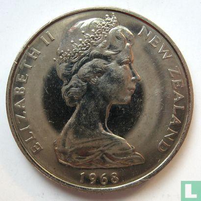 New Zealand 10 cents / 1 shilling 1968 - Image 1