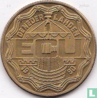 "Nederland 1 ecu 1990 ""Zoetermeer"" - Afbeelding 1"
