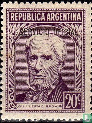 Argentine [ARG] - Personnalités avec une impression