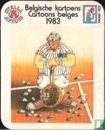 Belgique - Belgische kartoens 1983
