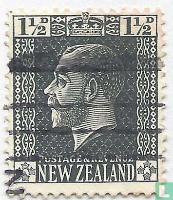 New Zealand - King George V