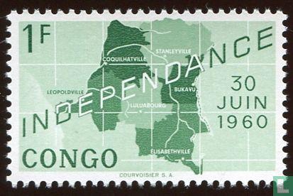 Congo-Kinshasa [COD] (Zaïre) - Onafhankelijkheid