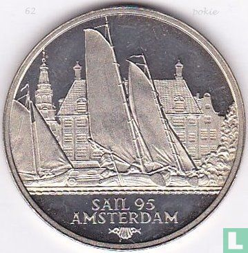 """2 Ecu Sail Amsterdam 1995 """"Friese Tjotters"""" - Afbeelding 1"""