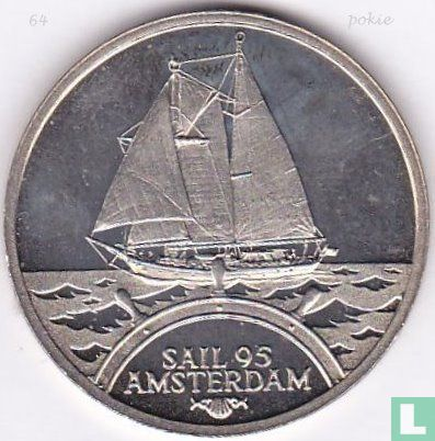 "2 Ecu Sail Amsterdam 1995 ""Eendracht"" - Afbeelding 1"