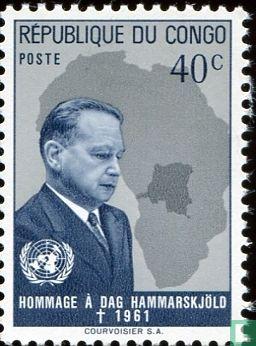 Congo-Kinshasa [COD] (Zaïre) - Death of Dag Hammarskjold