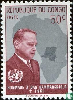 Congo-Kinshasa [COD] (Zaïre) - Death ofDag Hammarskjold