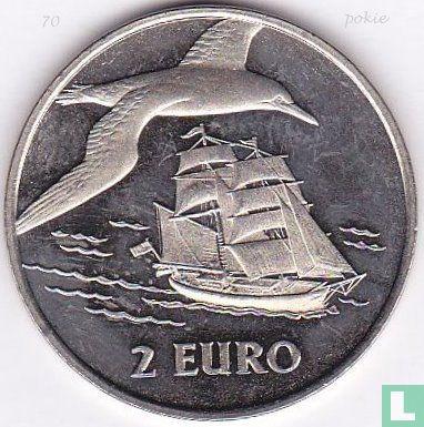 """2 euro Sail Den Helder 1997 """"Brik/Jan van Gent"""" - Afbeelding 1"""