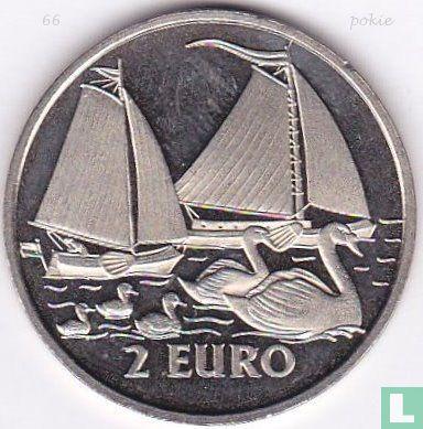 """2 Euro Sail Den Helder 1997 """"Binnenvaart/Zwanen"""" - Afbeelding 1"""