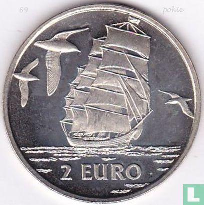 "2 Euro Sail Den Helder 1997 ""Fregat/Stormvogels"" - Afbeelding 1"