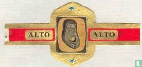 Alto - Magatama juweel. Jômon ± 1000 v. Chr.