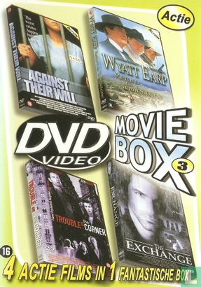 DVD - Against Their Will + Wyat Earp, Return to Tombstone + Trouble on the Corner + The Exchange