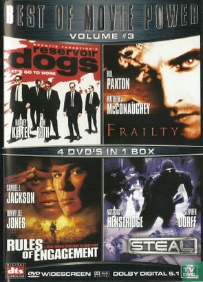 DVD - Reservoir Dogs + Frailty + Rules of Engagement + Steal