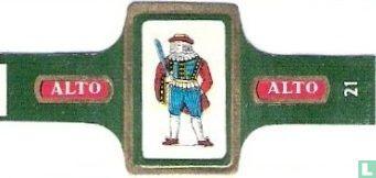 Alto - [Boer met zwaard]
