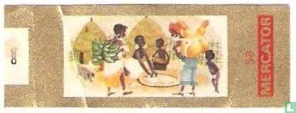 Mercator - Inboorlingendorp in Oost-Afrika