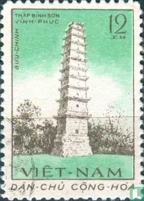 Vietnam - North Vietnam - Ancient towers