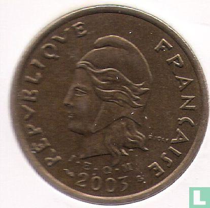 French Polynesia - French Polynesia 100 francs 2003