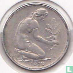 Duitsland - Duitsland 50 pfennig 1970 (F)