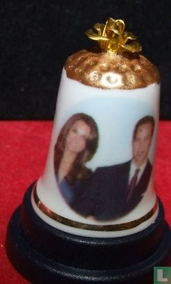 Vingerhoed huwelijk William & Kate - Image 1