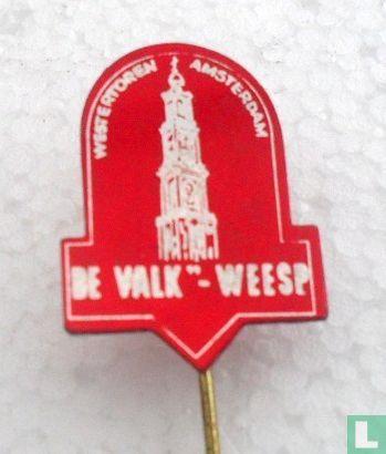 "Margarinefabriek De Valk - Weesp - De Valk ""- Weesp Westertoren Amsterdam [rood]"