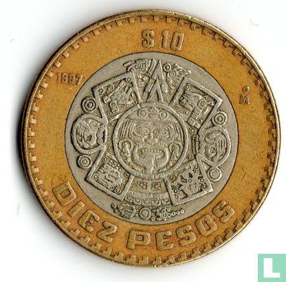 Mexico - Mexico 10 pesos 1997