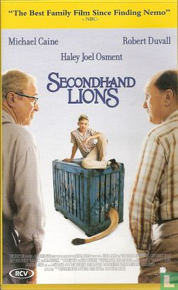 VHS videoband - Secondhand Lions