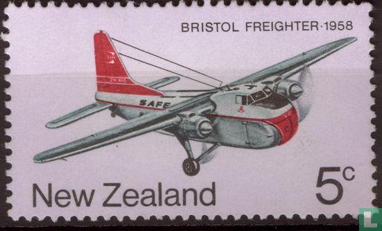 Nieuw-Zeeland - Postvliegtuigen
