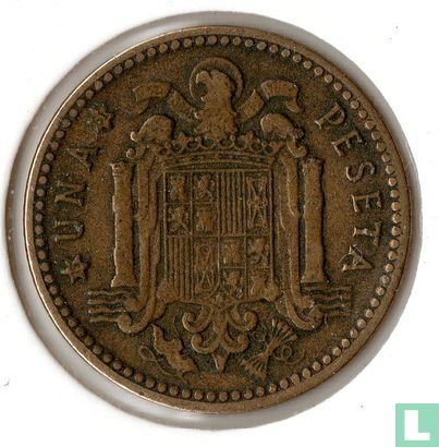 Spain - Spain 1 peseta 1953 (61)