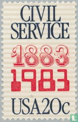 Verenigde Staten van Amerika (USA) - 100 jaar federale overheidsdienst