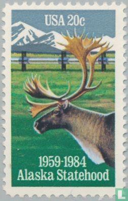 Verenigde Staten van Amerika (USA) - 25 jaar staat Alaska