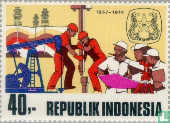 Indonesië [IDN] - Indonesische Staatsoliemaatschappij 1957-1974
