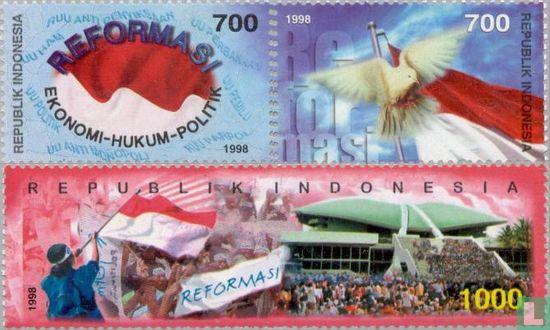 Indonesië [IDN] - 1998 Reformatie (IND 654)