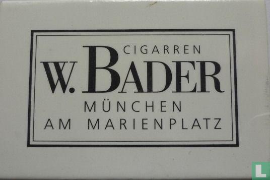 Cigarren W. Bader