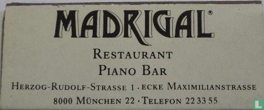 Madrigal Restaurant Piano bar - Image 1