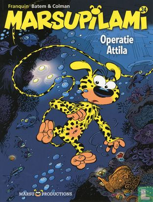Marsupilami - Operatie Attila